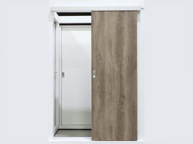 Precio puerta corredera exterior simple puertas aluminio for Puerta corredera aluminio exterior